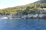 The Blue Grotto - row boats